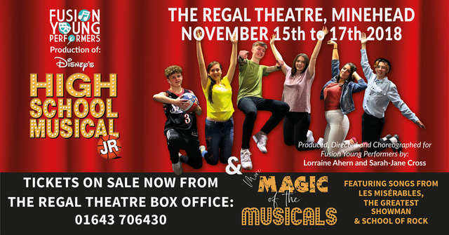 HIGH SCHOOL MUSICAL JR and MAGIC OF THE MUSICALS - Fusion Young Performers