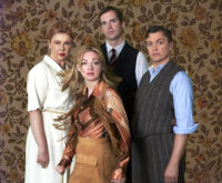 Baroque Theatre Company Presents VERONICA'S ROOM by Ira Levin Directed by Adam Morley  Touring Aug-Oct 2016 Photography by Kellie Colby, Costume by Suzanne Bell, Claire Bibby, Talitha Willsea; suspense drama